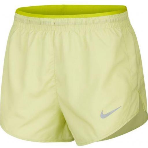 Pantalón corto Nike Tempo Lux 3 IN Mujer Verde Lima