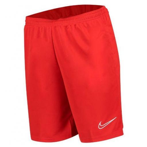 Pantalón Corto Nike Dri-FIT Academy 21 Niños Rojo