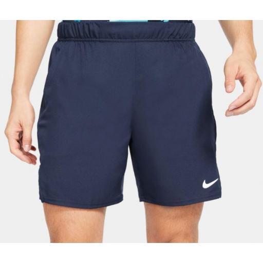 Pantalón corto Nike Court Dri-FIT Victory Tenis Short Azul Marino