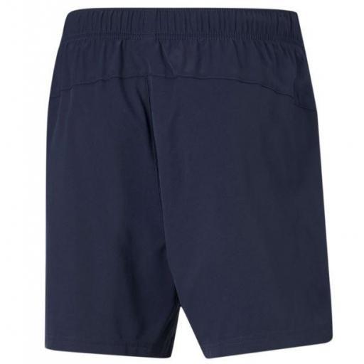 """Puma Pantalón Corto ACTIVE Woven Shorts 5"""" Azul [2]"""
