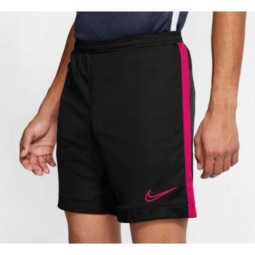 Pantalón Corto Nike Dri-FIT Academy Short Negro/Rosa