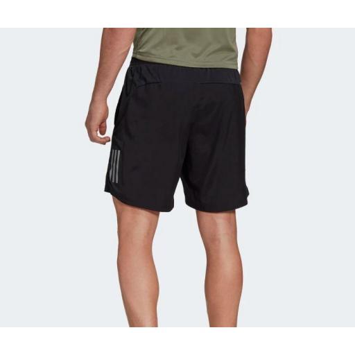 """Pantalón Corto Adidas Own The Run Short 5"""" Negro [2]"""