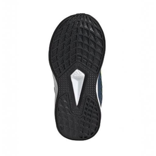 Zapatillas Adidas Duramo SL I Velcro Niños Azul Marino/Amarillo [3]