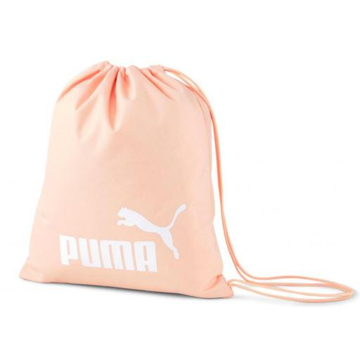 Saco Puma Phase Gym Sack Naranja Melocotón