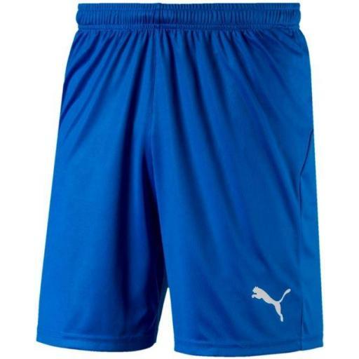 Pantalón Corto Puma LIGA Shorts Core Azul