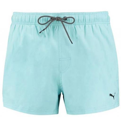 Bañador Puma Swim Short Lenght Azul Claro