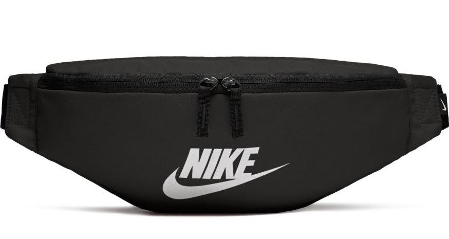 Riñonera Nike Heritage Hip Pack Negra Blanca