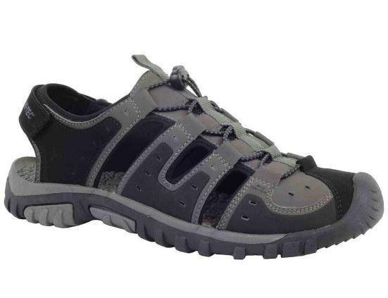 Sandalia Hi-Tec Koga Sandal Trekking Negro/Gris