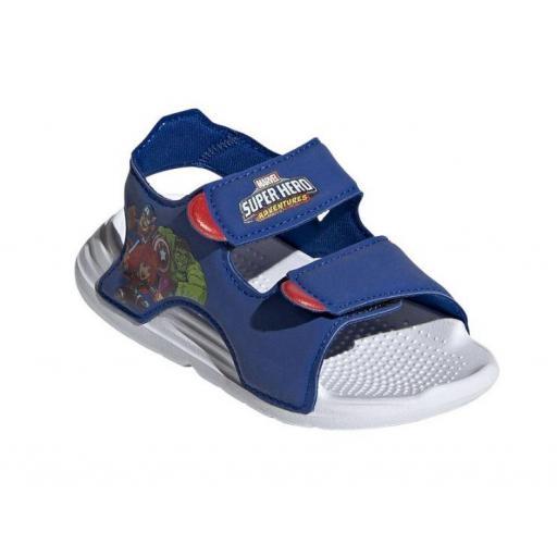 Sandalias Adidas Swim Sandal Velcro Marvel Los Vengadores [2]