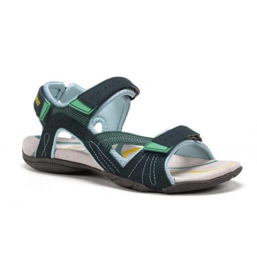 Sandalias Chiruca Cullera 01 Velcro Verde/Azul [1]