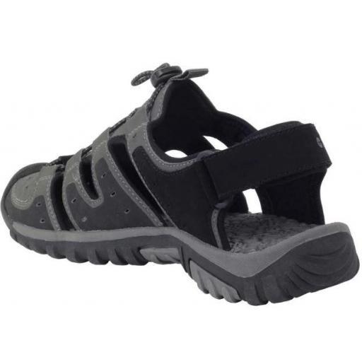 Sandalia Hi-Tec Koga Sandal Trekking Negro/Gris [1]
