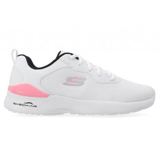 Skechers Zapatillas Skech-Air Dynamight Radiant Choice Blanco Mujer