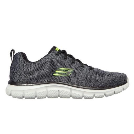 Zapatillas Skechers Track-Front Runner Negro/Verde