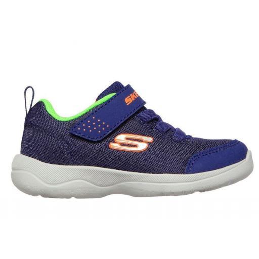 Skechers Zapatillas SKECH-STEPZ 2.0 Mini Wanderer Velcro Niño Pequeño