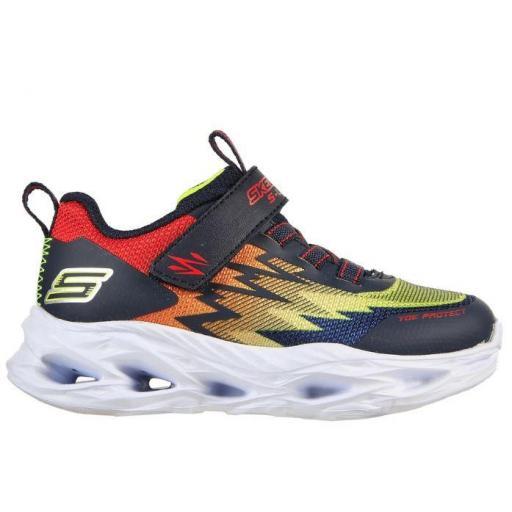 Zapatillas con luces Skechers S Lights-Vortex Velcro Niño Pequeño