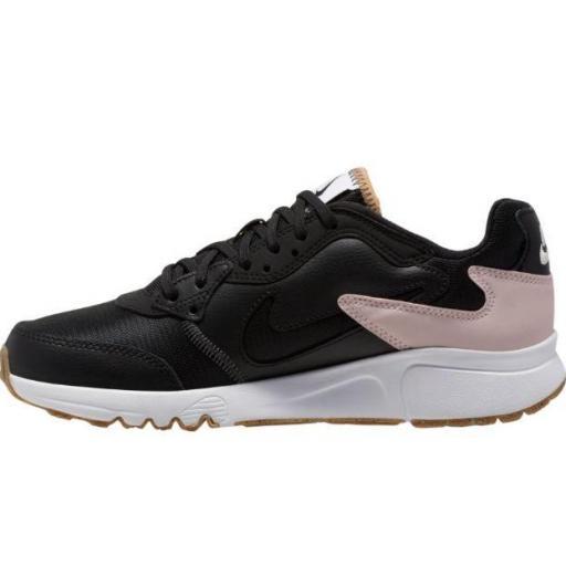Zapatillas Nike Womens Atsuma Negro/Blanco/Rosa [1]