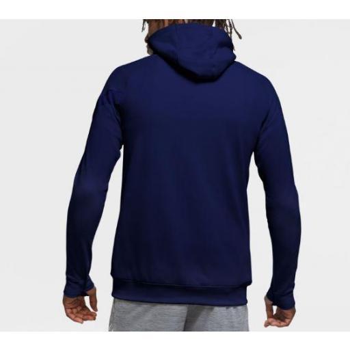 Sudadera Nike Dri-FIT Academy Hoodie PO Azul [2]