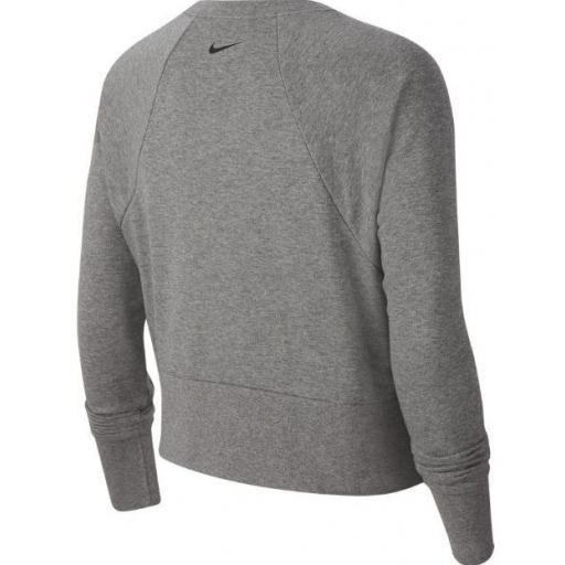 Nike Sudadera Mujer Dry Get Fit FC CW EL Gris [2]