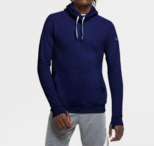Sudadera Nike Dri-FIT Academy Hoodie PO Azul