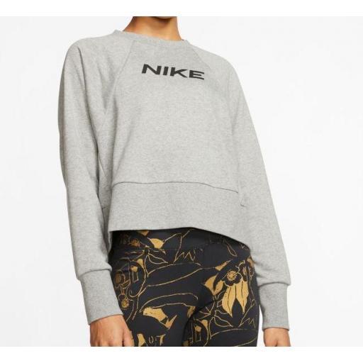 Nike Sudadera Mujer Dry Get Fit FC CW EL Gris [1]