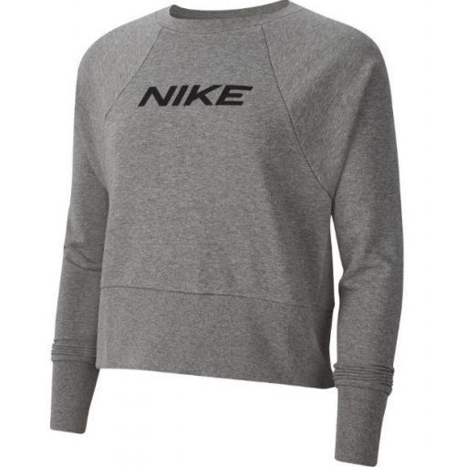 Nike Sudadera Mujer Dry Get Fit FC CW EL Gris