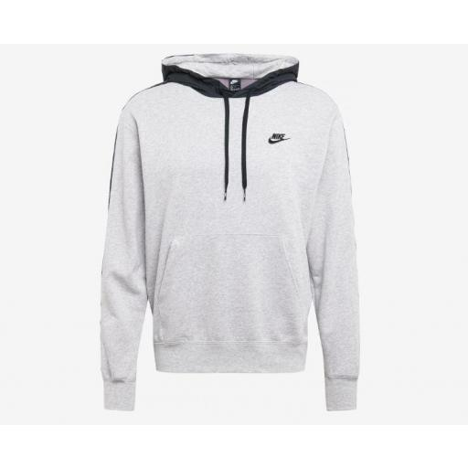 Sudadera Nike Sportswear French Terry Hoodie Gris/Negro