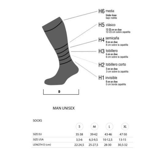 Calcetines Lurbel Tierra H4 Walking [3]