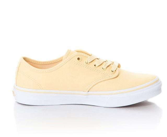 Zapatillas Vans Mujer Camden Stripe Pineapple Slice amarillas