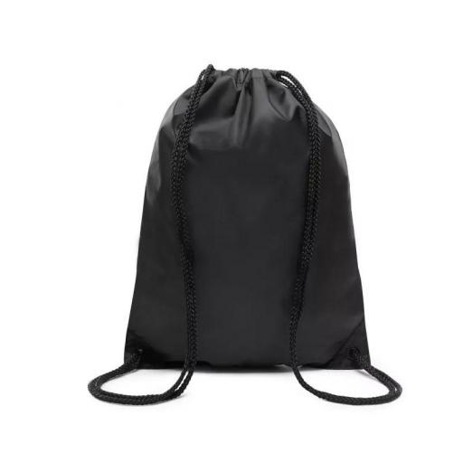 "Bolsa Saco Vans Benched Bag Logo ""Off The Wall"" Negro/Blanco [2]"