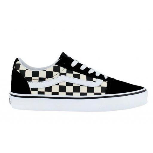 Zapatillas Vans Ward Checkerboard Cuadros Mujer