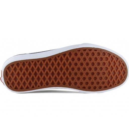 Zapatos Vans Ward Suede Canvas Mujer Negro/Blanco [3]