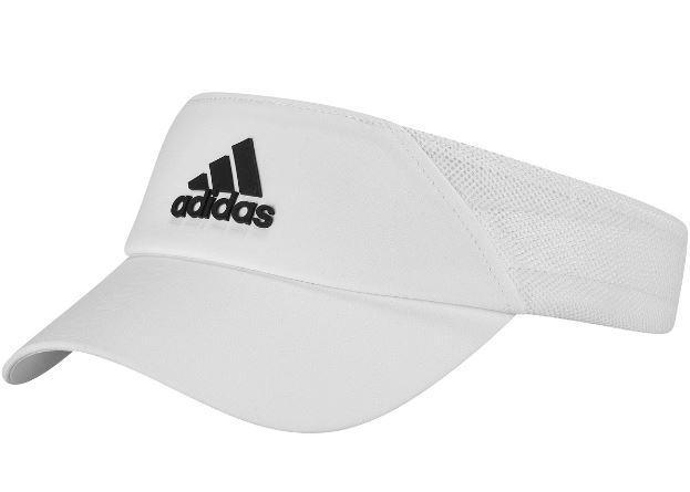 Visera Adidas Visor AeroReady Mujer Blanco