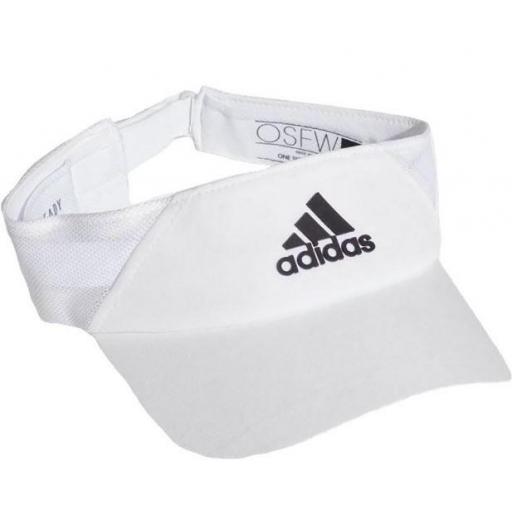 Visera Adidas Visor AeroReady Mujer Blanco [1]