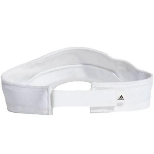 Visera Adidas Visor AeroReady Mujer Blanco [2]