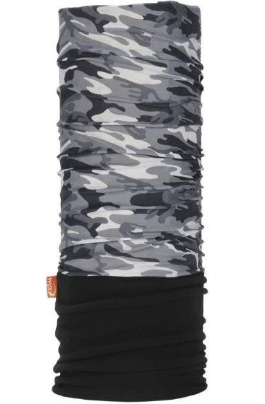 Tubular WDX Polar Headwear Camuflaje Negro