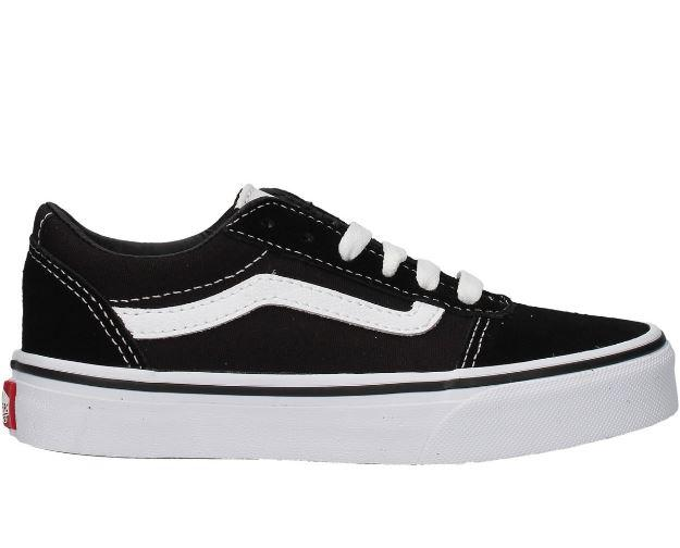 Zapatos Vans YT Ward Niños Negro/Blanco