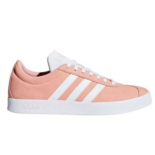 Zapatillas Adidas VL Court 2.0 Mujer Coral