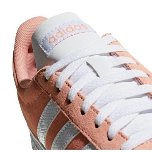 Zapatillas Adidas VL Court 2.0 Mujer Coral [1]