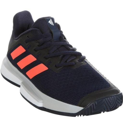 Zapatillas Adidas SoleMatch Bounce Clay Court Mujer [1]