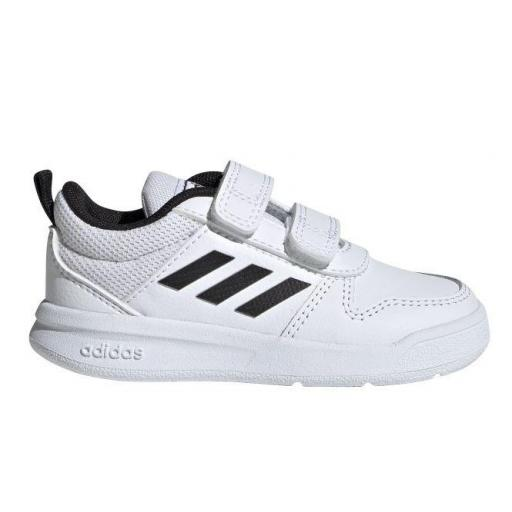Zapatillas Adidas Tensaur I Niño Velcro Blanco/Negro