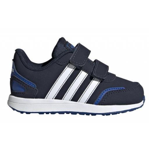 Zapatillas Adidas VS Switch 3 Niño Velcro FW6663 Azul
