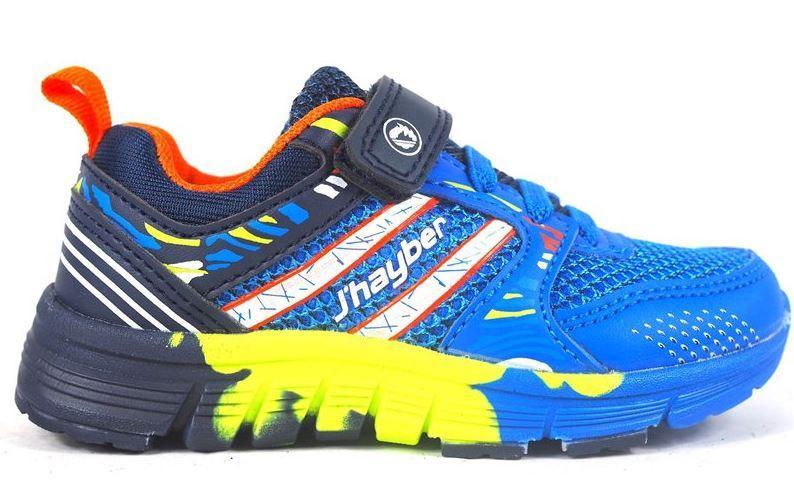 Zapatillas J'hayber Ronila Blue Velcro Niño Pequeño