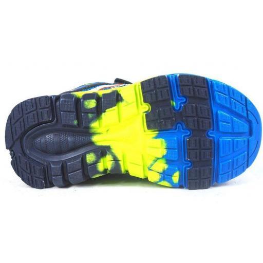 Zapatillas J'hayber Ronila Blue Velcro Niño Pequeño [2]