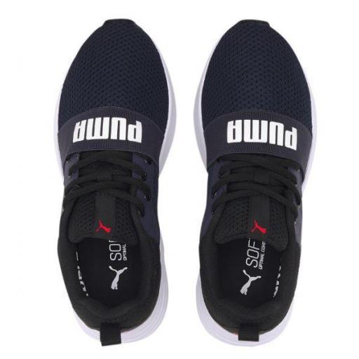 Zapatillas Puma Wired Run Junior Azul/Blanco [2]