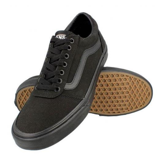 Zapatillas Vans Ward Canvas Black/Black [1]