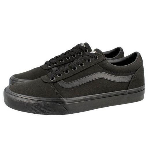 Zapatillas Vans Ward Canvas Black/Black [2]