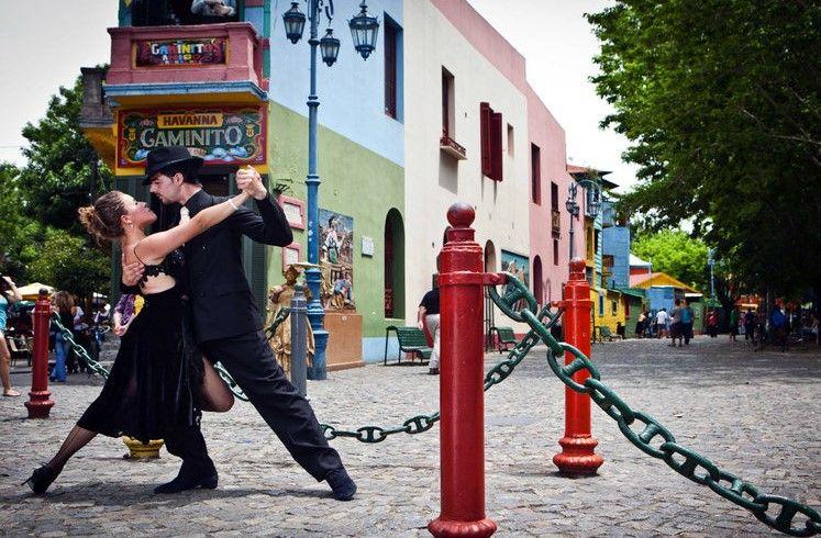Caminito - Barrio de La Boca - Buenos Aires