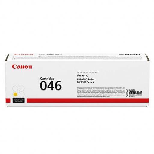 Toner Original CANON 046 Amarillo - 1247C002 Comprar en Toner Nuevos Ministerios