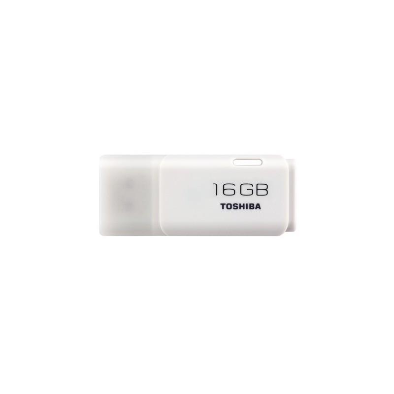 MEMORIA USB 16 GB U202 TOSHIBA HAYABUSA BLANCO