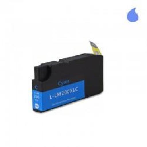 14L0198-C CARTUCHO GENERICO LEXMARK CYAN (N 200XLC) 32ML